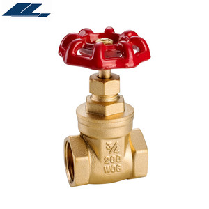 1/2 - 6 inch 232psi BSP or NPT brass water gate valve