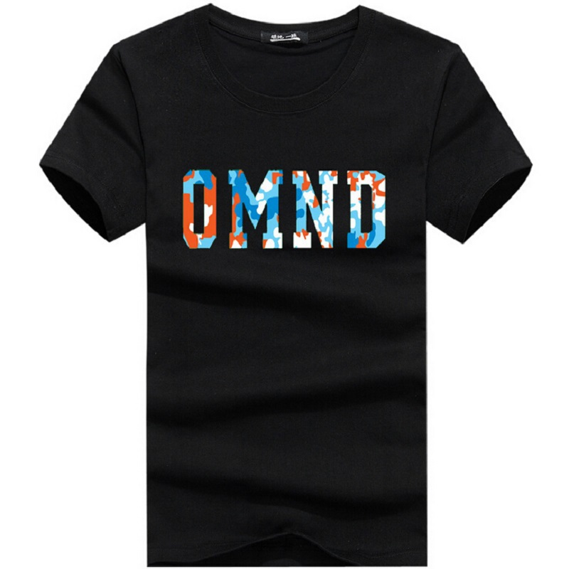 Summer Style Men's Basic Letters Printed T-shirt Cotton Short Sleeve Men T Shirt Sport  Large Size M-6XL Tall&Obese People 13 29
