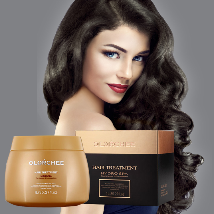 Private lable professional salon natural herbal deep moisturizing argan oil hair mask