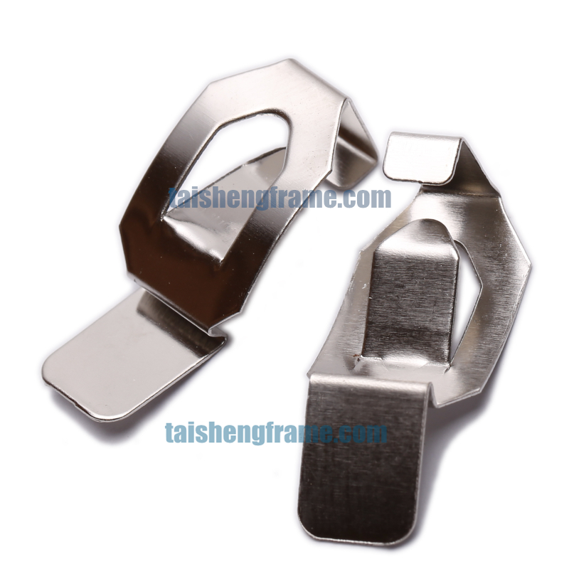 decorative picture frame hanging hardware clip 10mm audimute panel clip panel clips for hanging panels