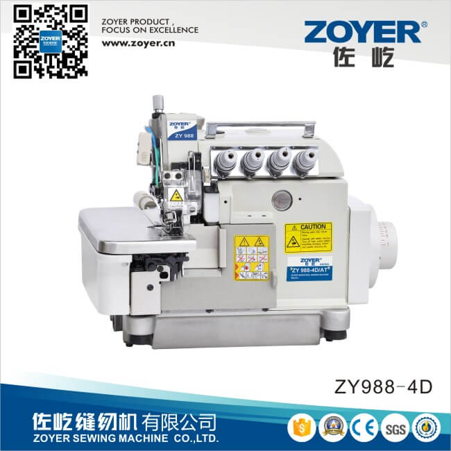 ZY988-4D Zoyer Pegasus Ex Direct Drive Overlock Industrial Sewing Machine