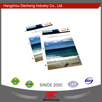 Professional custom DC-03-25 fabric display color card