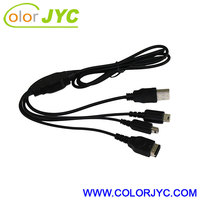 USB Charging Cable For Nintendo 3DS DSi DSL, DSi XL, DS Lite DS & GBA SP