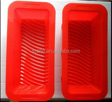 Nonstick Silicone Bread Baking Form,Silicone Rectangle Loaf Pan,Silicone Bread Loaf Mold