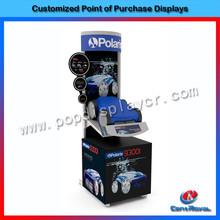 New products 2017 fashion car show display accessories display stand