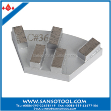 Metal Bond Cassani Abrasive Tools Diamond Grinding Plate for Granite Marble Slabs and Concrete Floor