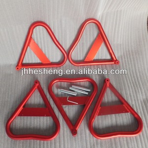 Red triangle moto stand Hesheng motorcycle repair accessories (HS-MM7)