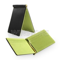 Colorful Leather Credit Card Holder Money