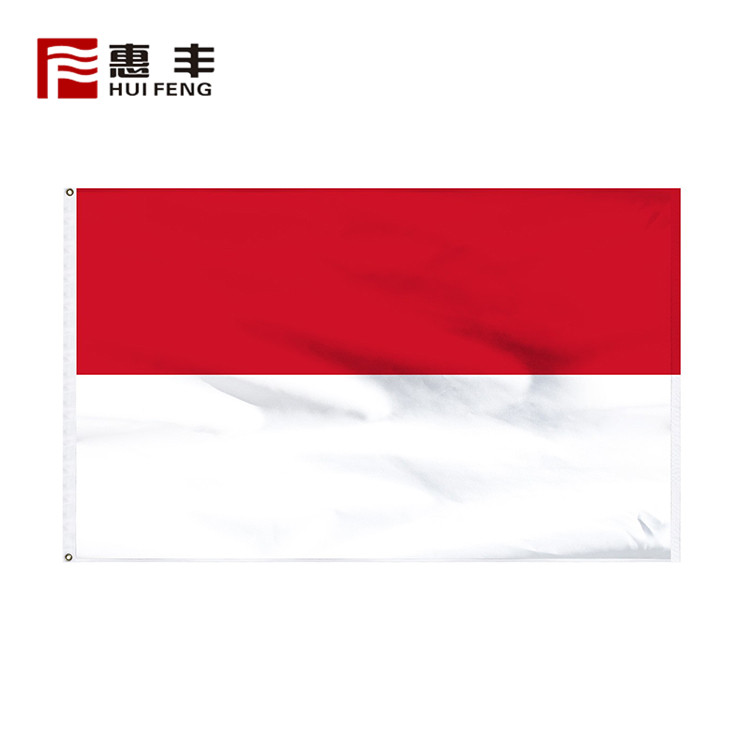 Monaco country flags sale , custom bunting the national flag