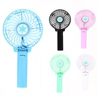 New Foldable Hand Fans Battery Operated