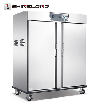Hotel Banquet Equipment Large Stainless Steel Food Warmer Upright Heated Holding Cabinet