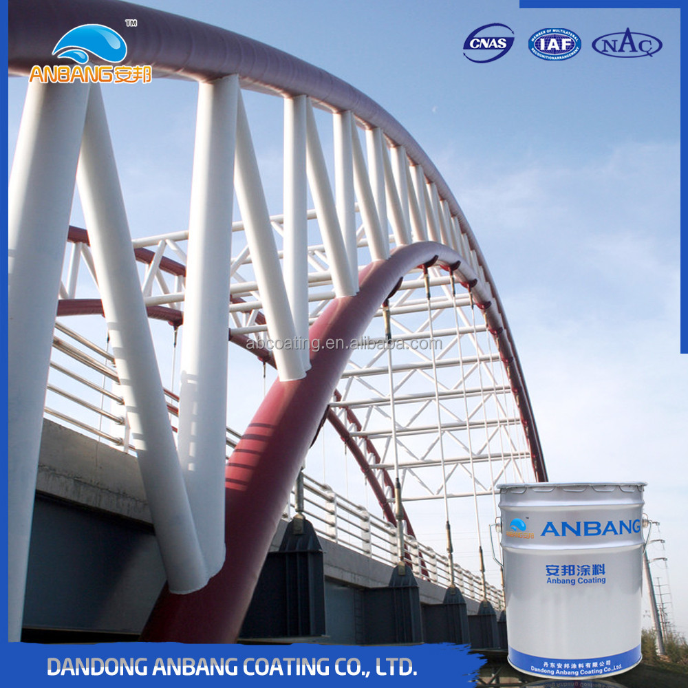 AB368 epoxy mio barrior paint durability corrosion resistant coating for steel structure