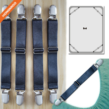 Adjustable Heavy Duty Cover Suspenders Strap Fasteners Table Bed Sheet Grippers Holders