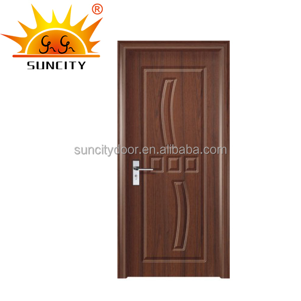 Economic single bedroom vintage wood door SC-P011