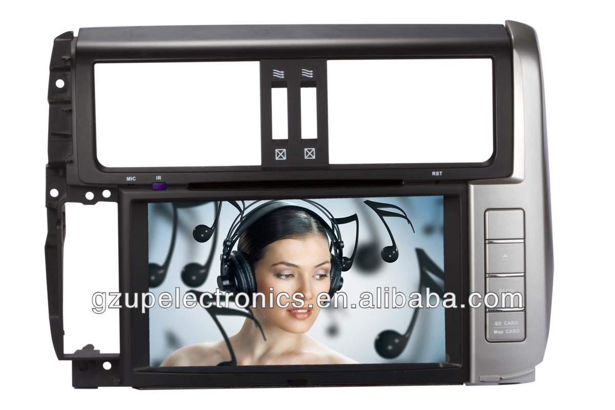 HD doubel din 8 inch special car audio and video for toyota universal before 2006 with GPS BT TV steering wheel control