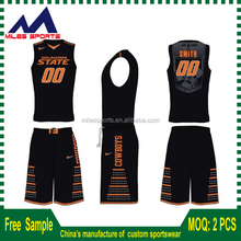 New Design Dri Fit Sublimated Cheap Reversible Basketball Jerseys