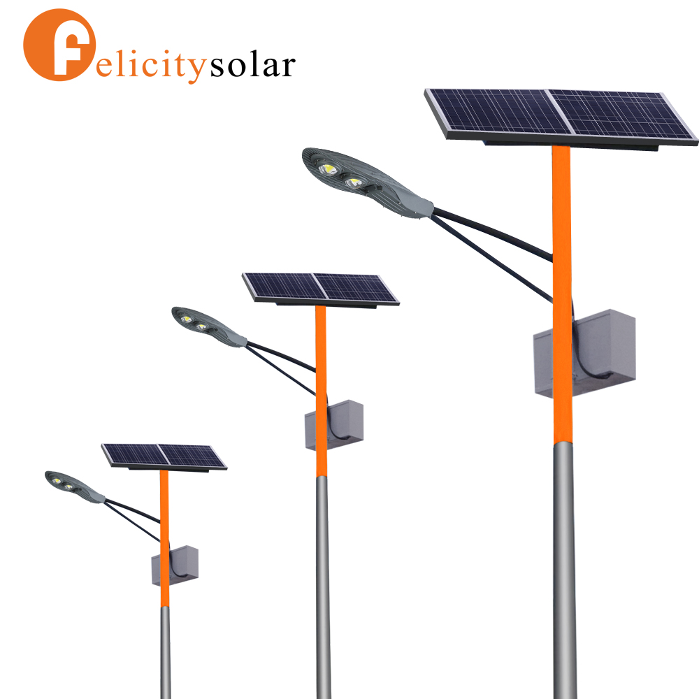 Unique fashion 30W outdoor solar power <strong>led</strong> street light with pole