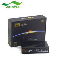 DVB-T2/S2/C HD Digital Video Broadcasting Terrestrial Digital TV Receiver Set Top Box with Remote Controller for HD TV