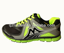 Top running shoes for men EVA midsole absorb shock cushioning