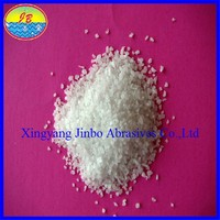White Synthetic Corundum / Synthetic White Fused Alumina Refractory Coating Mineral Products