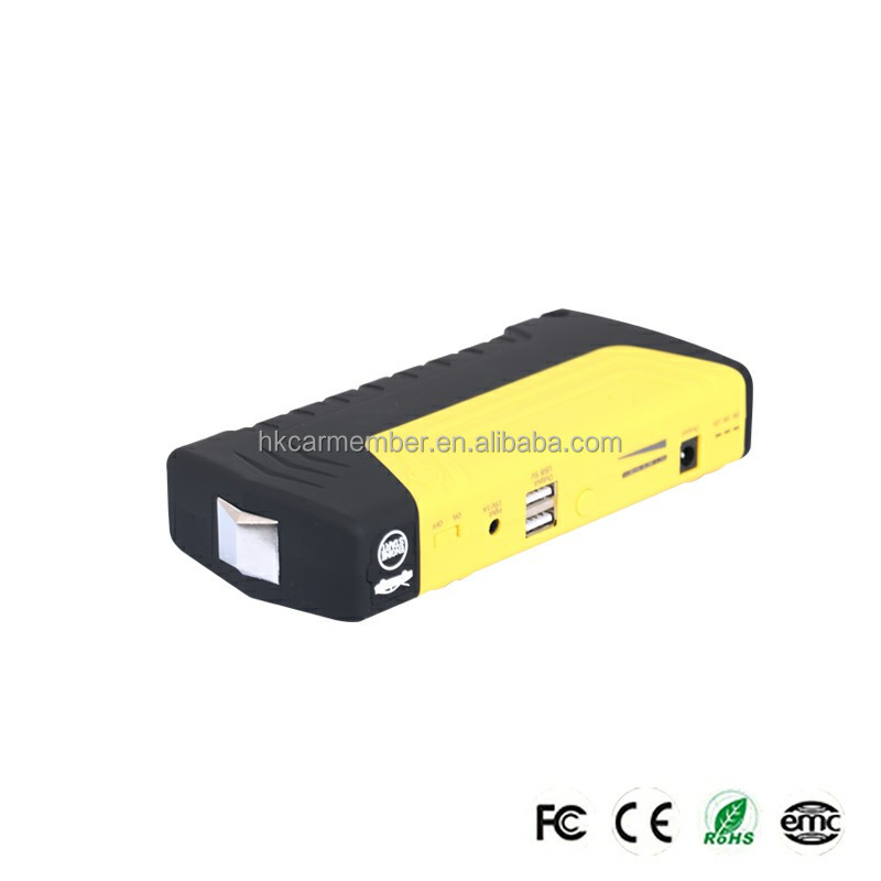 CAR MEMBER 12000mah Wholesale Factory Emergency Used 12v Car Battery Cover to Start Car Charging Laptop,Mobile Phone