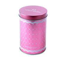 2/3 piece tin can,durable, eco-friendly cylindrical metal tin pen holder