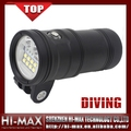 Super Bright Scuba Diving Led Flashlight for Underwater Photography & Explorer