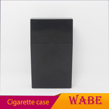ABS best selling wholesale plastic primary colours slim cigarette case for man 110mm