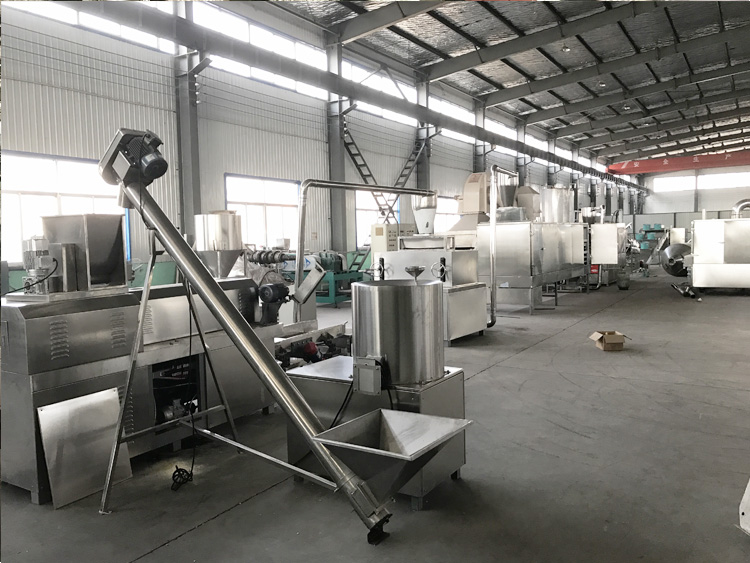 Peanut chikki making machine oat flake new type corn flakes production line