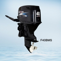 4 stroke 40hp outboard motor / remote control / electric start / short shaft
