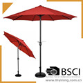 mail order 9 feet staright outdoor umbrella / 270cm patio parasol / 300cm patio umbrella / 300cm marketing umbrella