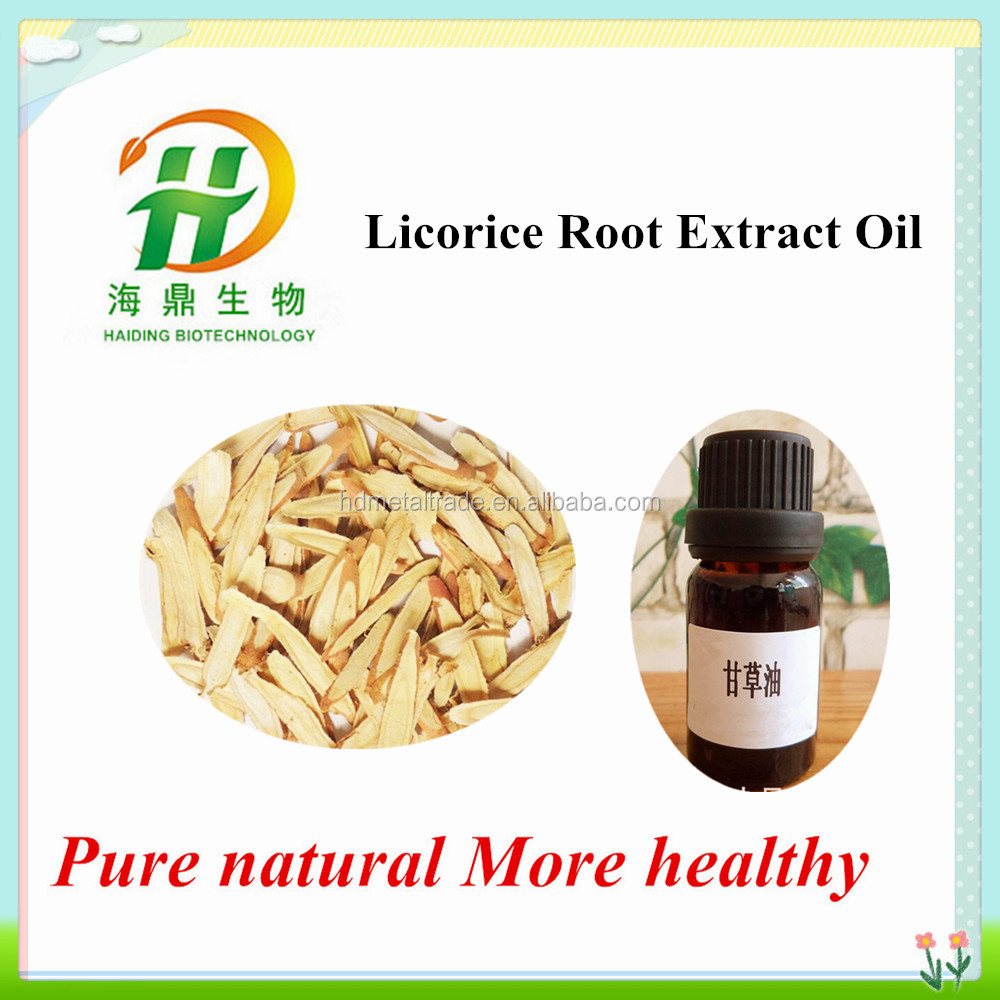 Natural Licorice Root Essential Oil / 90% Glabridin whitening product
