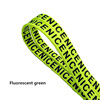 100cm Fluorescent green  with standard logo
