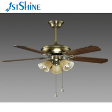 52 inch decorative wall mount ceiling lamp fan with ce