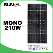 best monocrystalline 210w panel solar price for home