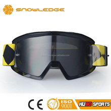 Wholesale motorcycle helmet dust proof UV400 protected tear off motocross goggles