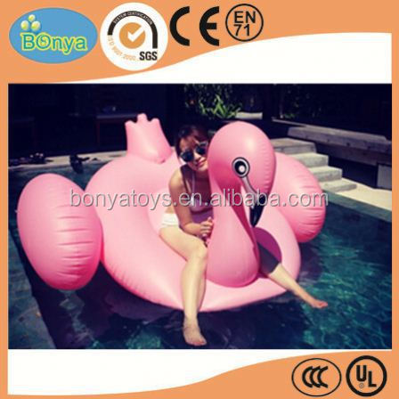 funny water games inflatable swimming ring boat for water park