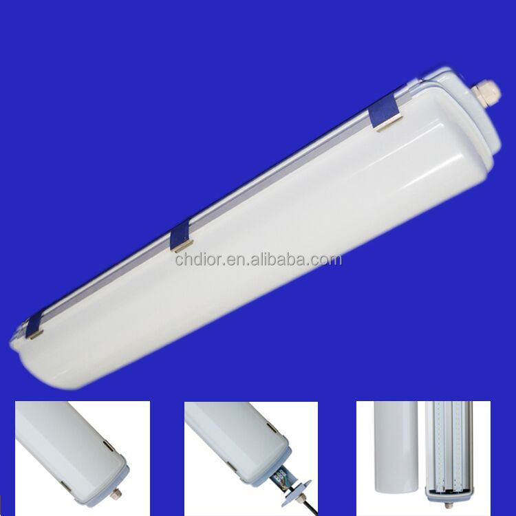 T8 40w waterproof tri-proof light led, 4ft triproof led light IP65 4ft tri-proof led lamp