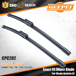 New arrival products China wholesale special auto front wiper blade frameless flat aero bosch wiper blade for Skoda Octavia III