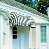 Simple Small French Door Awning