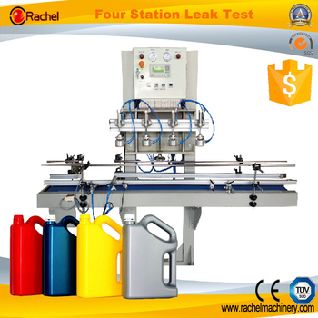 Automatic PET bottle leakage test machine