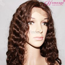 homeage custom wig natural hair dye grey human hair lace wigs