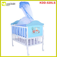 Bedroom furniture baby crib canopy