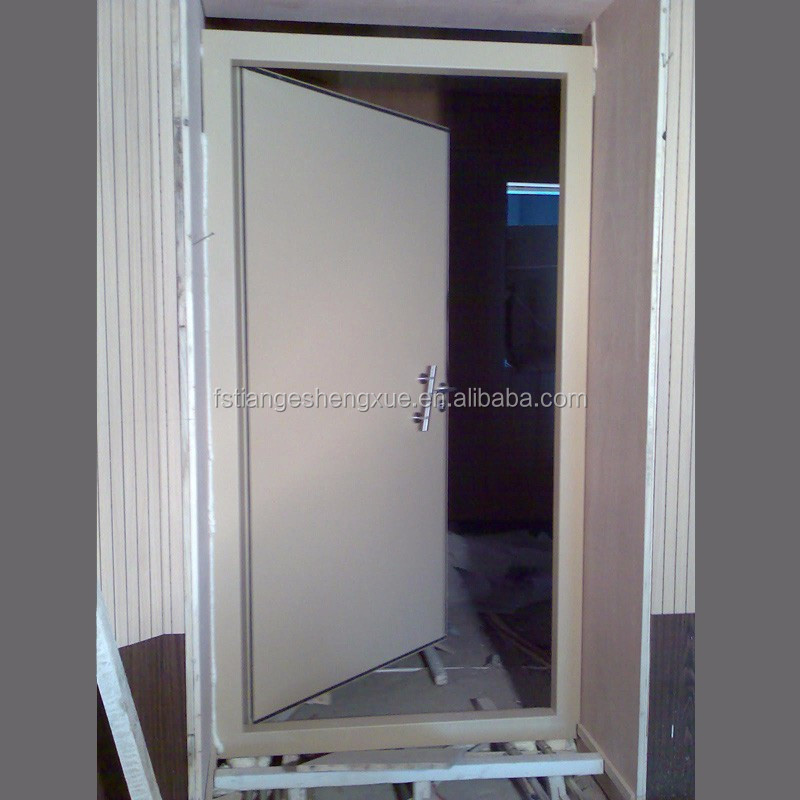 stainless steel soundproof door with threshold