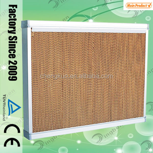 Made in china corrugated cellulose evaporative cooling pad