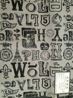 printed polyester fabric/ luggage fabric/ men fabric
