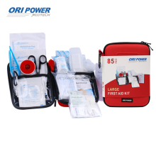 OP manufacture FDA CE ISO approved promotional 85pcs EVA home travel automobile hotel first aid kit