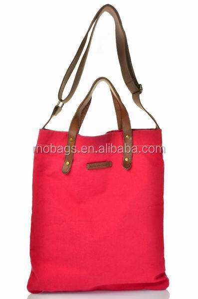 high quality cotton canvas  tote hand bag (4).JPG