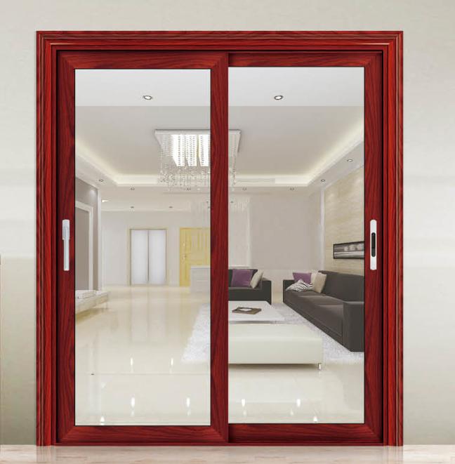 Aluminum Exterior Sliding Doors : Exterior wood sliding doors aluminum glass door
