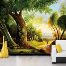 Wholesale Scenery Printing Picture Lobby Wall Design Porcelain Floor Tile Made In China